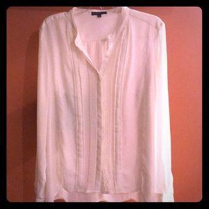 Adrianna Papell cream blouse
